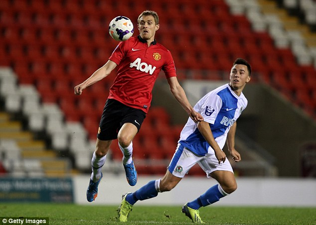 Back in business: Fletcher played the full 90 minutes for the second U21 game in a row