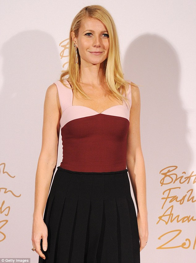 Noticeably absent: For weeks there's been talk Vanity Fair would do a negative story on Gwyneth Paltrow - seen here on December 2 at the British Fashion Awards in London - but it was not in the January issue