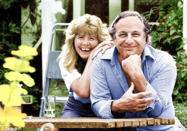 Jilly Cooper and her husband Leo Cooper, pictured in the early 80s. The novelist is mourning his loss, after the 79-year-old died following a long battle with Parkinson's disease