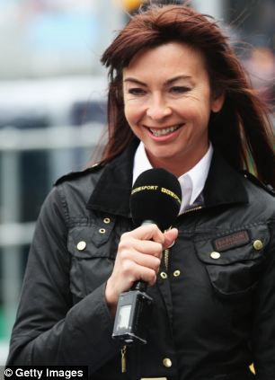 BBC F1 presenter Suzi Perry joked that people should see Lineker 'on a Friday night'