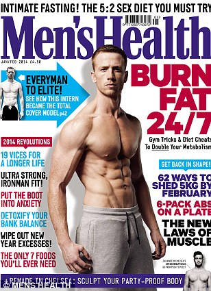 Full interview appears in the January/February issue of Men¿s Health, on sale Wednesday 4 December