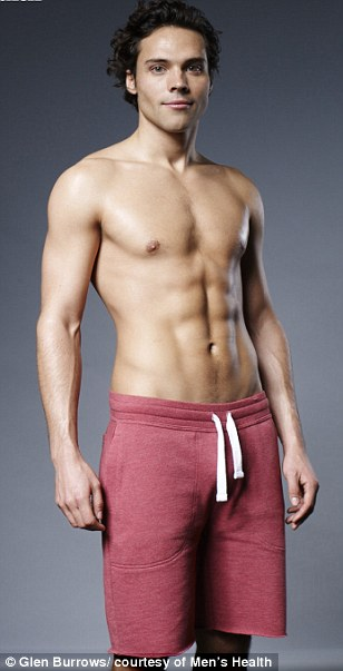 Andy Jordan completes the six-pack challenge for Men's Health