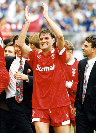 Pass master: Hoddle took Swindon to the Premier League as player-manager