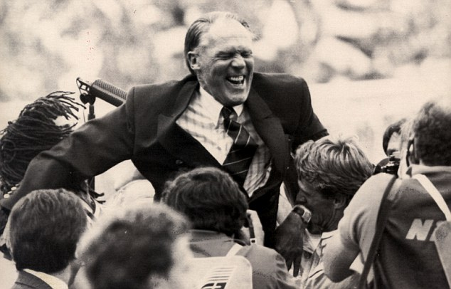 Pioneer: Former Holland, Ajax and Barcelona coach Rinus Michels