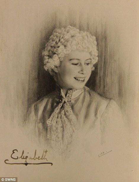 Young Queen: Princess Elizabeth in the play Cindarella