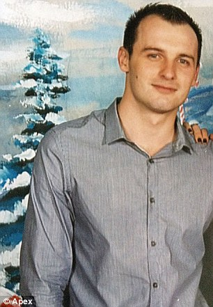 Suicidal: Marek Wojciechowski who caused the crash which wiped out a young family