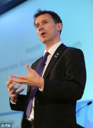Health secretary Jeremy Hunt has blamed the rise of needless A&E visits in part on Labour allowing GPs to opt out of working out of hours