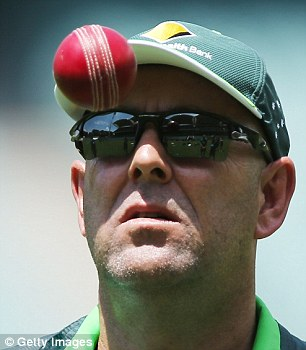 Pom-basher: The installation of Darren Lehmann as Australia coach is no mistake with the former Yorkshire captain retuning the team to its roots