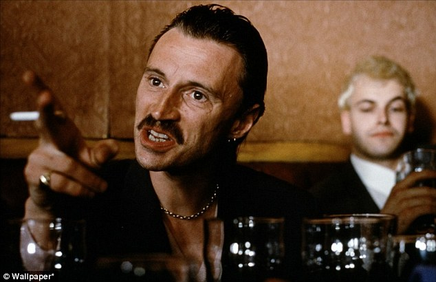 Tinderbox: The unhinged Francis Begbie is always ready to square up - as are Australia in this Ashes series