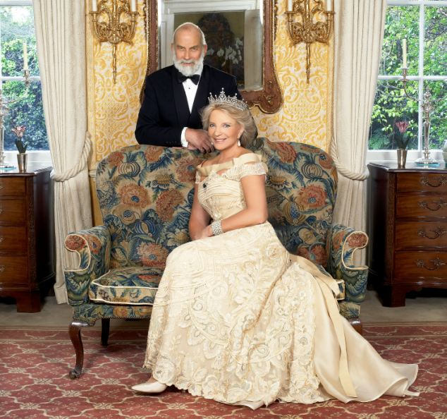 In the lap of luxury: Prince and Princess Michael of Kent live within the high walls of Kensington Palace