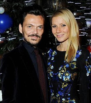 Matthew Williamson and Gwyneth Paltrow get festive