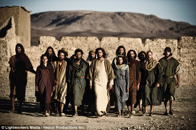 Second coming: History Channel has a new show in the works about Jesus' so-called 'lost years' after the success of its miniseries The Bible (pictured)