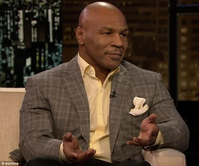 Tricky: Mike Tyson told Chelsea Handler he cheated his way through drug tests when he was boxing by using a a fake penis