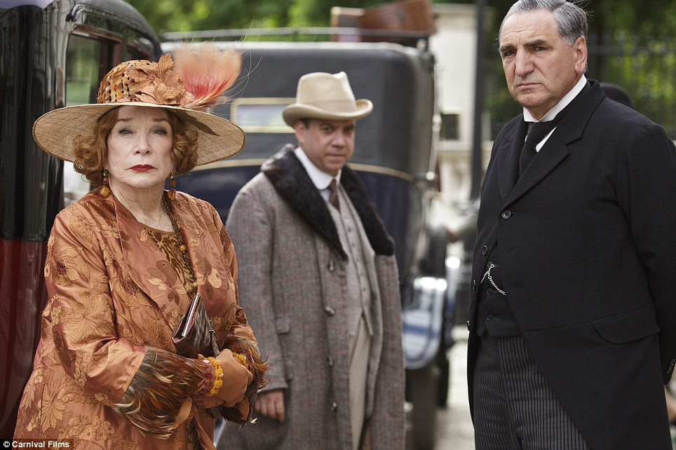 They're back: Fans can also look forward to the return of Cora¿s American mother Martha Levinson, played by Hollywood legend Shirley MacLaine, and Cora¿s playboy brother Harold, played by Paul Giamatti