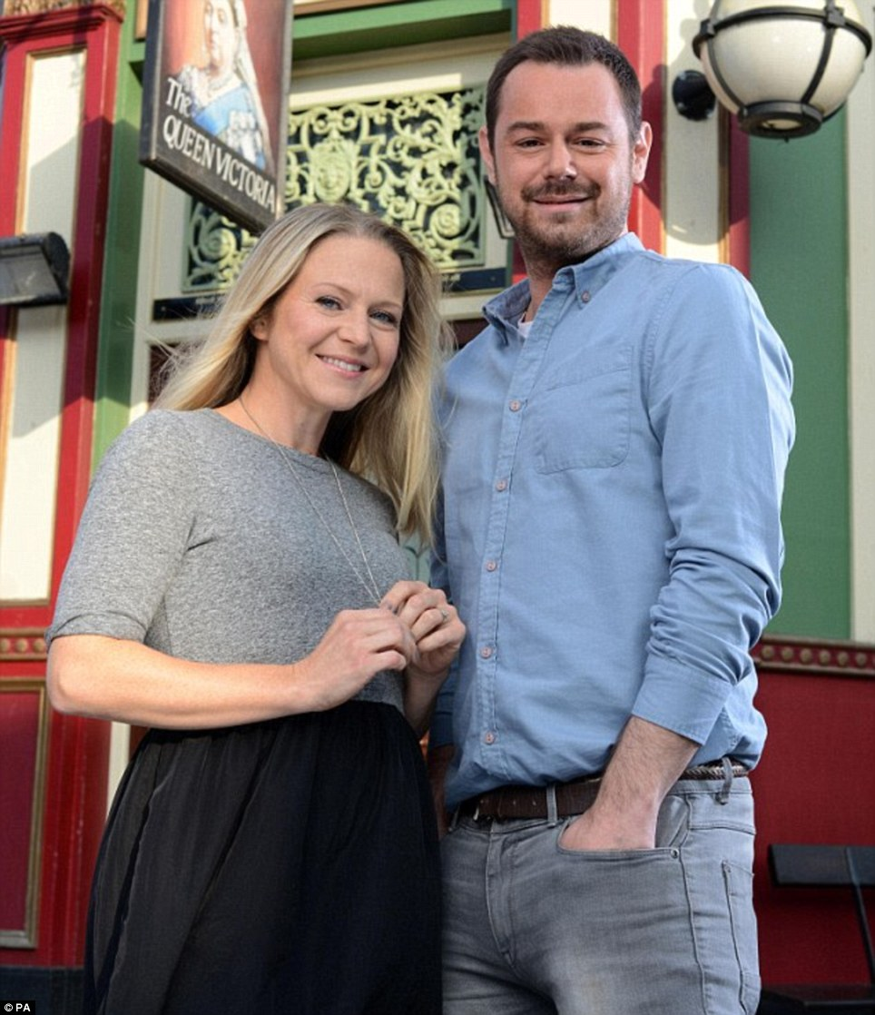 Queen Vic: EastEnders sees the arrival of Danny Dyer as the new landlord of the Queen Vic on Christmas Day