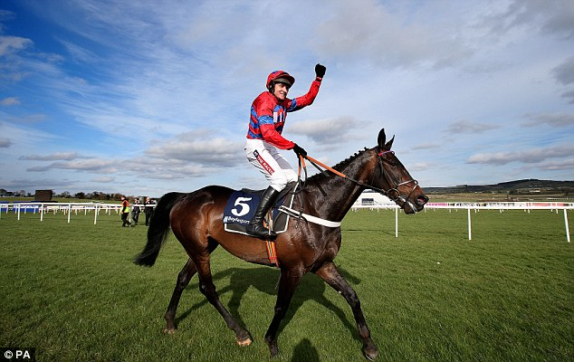 Sidelined: Sprinter Sacre was expected to make his seasonal return in Saturday's Tingle Creek Chase at Sandown