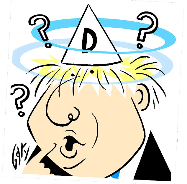 So are you brainier than Boris? Pit your wits against the type of IQ questions that left the clever-clogs Mayor looking like a dunce