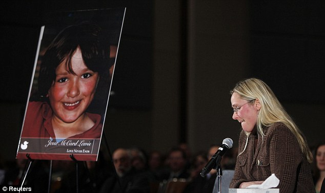 Hero: Scarlett Lewis, mother of Sandy Hook victim Jesse Lewis, said that her son yelled for his classmates to run away before Adam Lanza shot him in the head