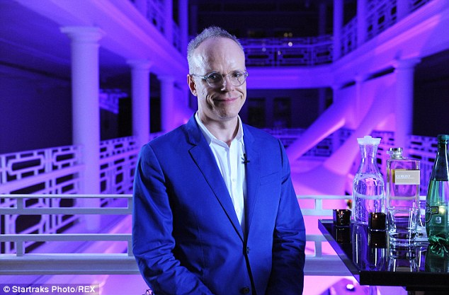 Smile please: Hans-Ulrich Obrst poses for a photo at the Miami event