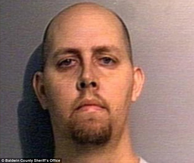 Under suspicion: Brittney's uncle Dustin Kent allegedly raped Donnie Holland's 13-year-old daughter while the father looked on
