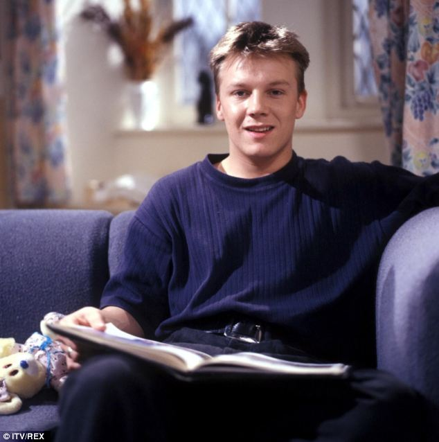 Star: Cy Chadwick as tearaway youth Nick Bates in a 1992 episode of the ITV soap Emmerdale