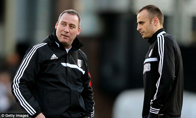 Reunion: New boss Rene Meulensteen worked with Berbatov at Manchester United
