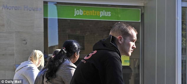 Jobless youth: Unemployment has fallen to 7.6 per cent but the youth jobless rate is 21 per cent