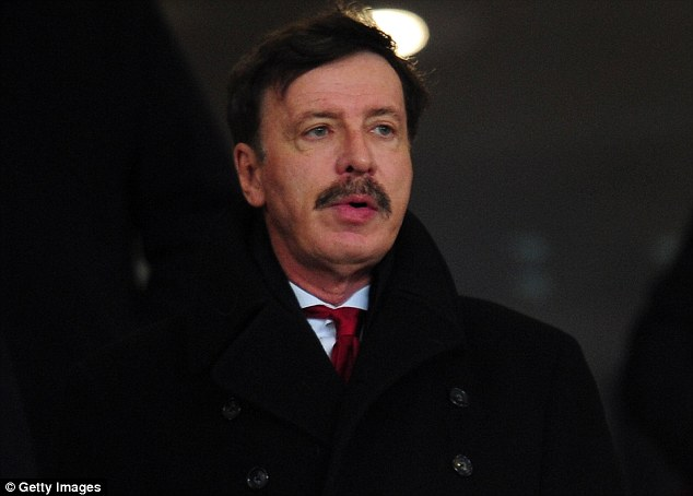 Majority shareholder: Stan Kroenke's son, Josh, is to be a non-executive director at Arsenal
