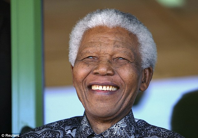 Iconic funeral: Anti-apartheid icon Nelson Mandela will lie in state for several days next week before a massive funeral service that will draw numerous heads of state and celebrities
