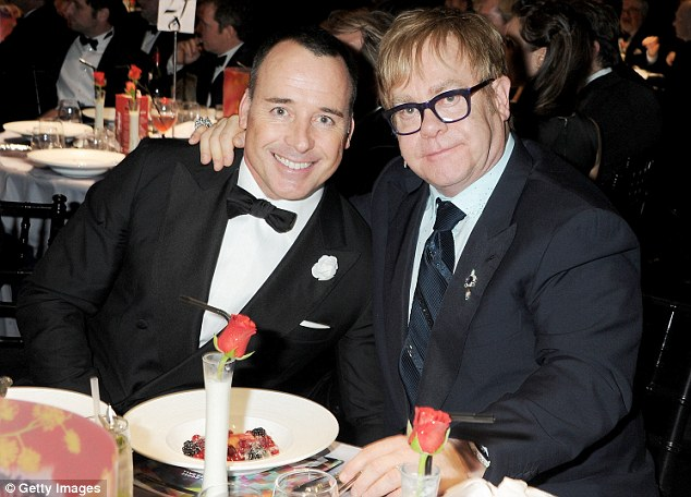Legislation: David Furnish and Sir Elton John. The Bill seeks to amend another aspect of discrimination, one which affects everyone from Olympians to pop stars