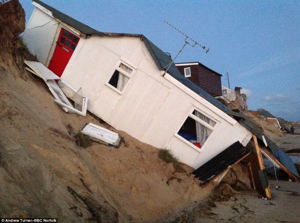 Owners of the homes are now unsure where they will live long term after their properties were badly damaged by the storms