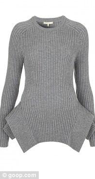 Banker peplum sweater, £581.40