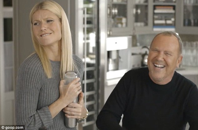 Teamwork: Gwyneth Paltrow and Michael Kors have teamed up to create a one-off collection - and star in an accompanying video