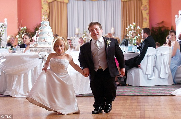 Happy couple: Jen and Bill have starred in the TLC series since their wedding in 2009
