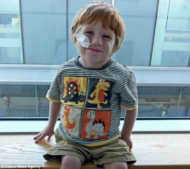William Balestrini, three, has autosomal recessive polycystic kidney disease which causes cysts to form of the kidneys damaging the tissue. In severe cases, it leads to kidney failure