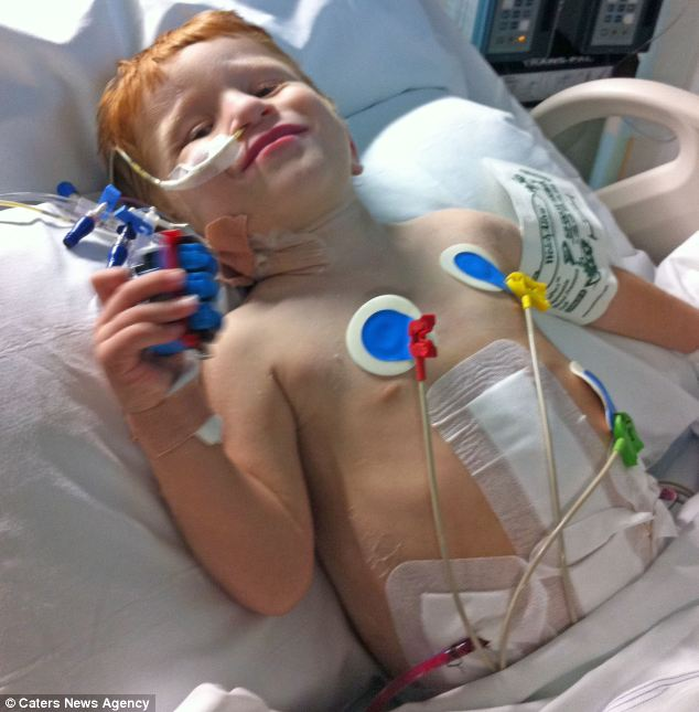 William had to have a very restricted diet as his failing kidneys were not able to filter excess minerals from his body. He is now able to eat normally after receiving a new kidney from his father