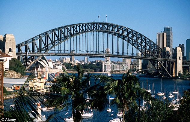 Breathtaking: Harbour Bridge is one of the many iconic pieces of architecture scattered throughout Sydney