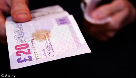 Beat falling rates: So far about £1.2 million has been lent through Rebuildingsociety, with lenders choosing which firms to invest in and the rate of interest they want