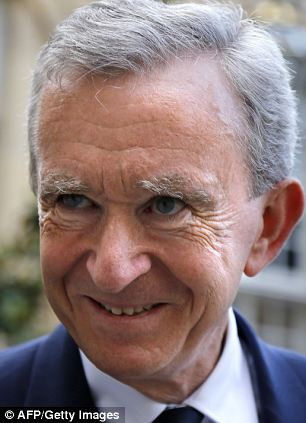 LVMH CEO Bernard Arnault officially transferred his assets to Belgium in January