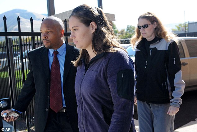 Explain herself: Jordan, seen here at an October court appearance, will be faced with the task of explaining her bizarre behavior in the days after her husband's death when she lied to family, friends and the police