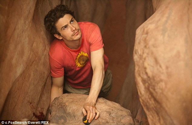 Hollywood story: Ralston's ordeal of cutting off his own hand became the Academy Award-nominated '127 Hours,' in which he was played by James Franco