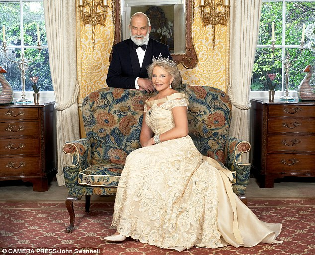 The Prince and Princess at home in Kensington Palace, photographed for their 30th wedding anniversary