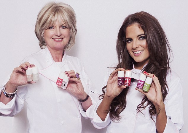New launch: From cute pastels to glam glitters, Binky Felstead had unveiled her own nail varnish range, Binky London