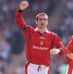 Genius: Eric Cantona makes up a deadly front two