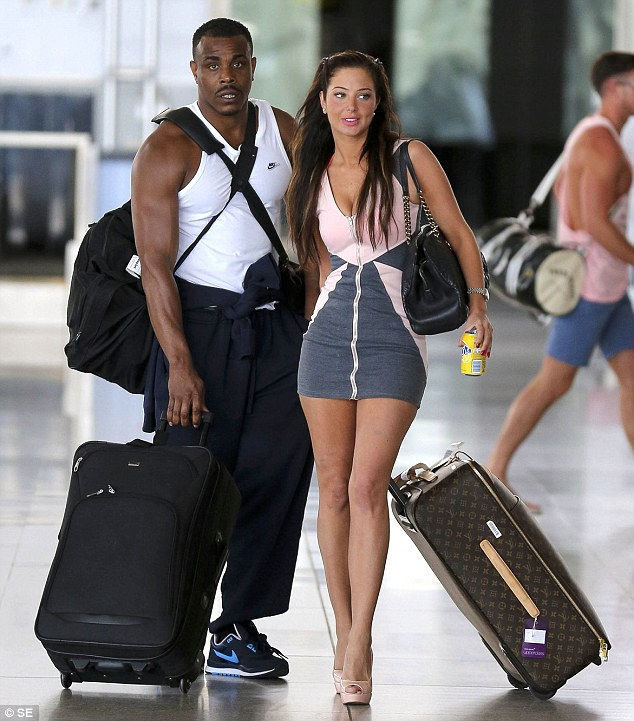 Tulisa Contostavlos and her friend Mike GLC. who has also been charged with supplying class A drugs