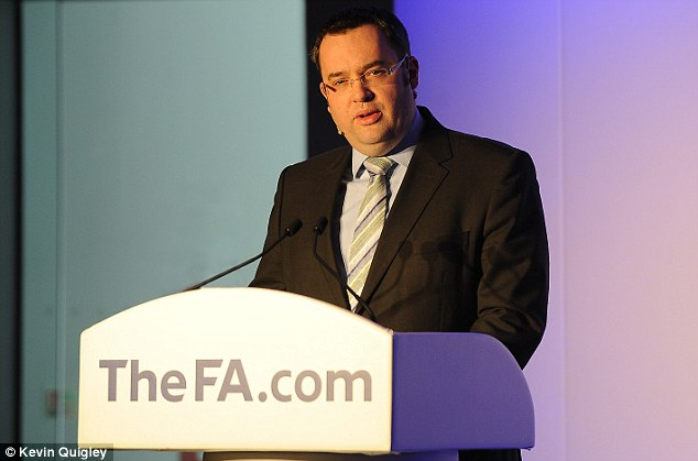 No big issue? FA chief Horne has played down the influence of organised gambling in football