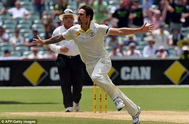 Speed demons: Steyn (above) and Johnson (below) have been shaking up batsmen in recent weeks