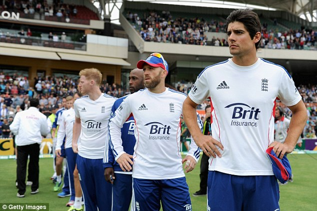 Blown apart: England have been second best in very department during the Ashes series so far