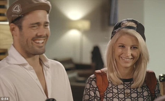 For reasons best known to themselves, Spencer and Phoebe turned up in fancy dress for their safari in South Africa - with Spenny dressed as an old racist golfer from the 1950s calling everybody 'boy' and Phoebe as Ulrika Jonsson