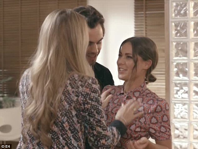 'Do I look petite ? Do I ? Do I ? Do I look petite ?' 'No, you still look small. And shiny.' Sophie and Mark-Francis break the news to Louise that there's only so much that wearing pyjamas can achieve